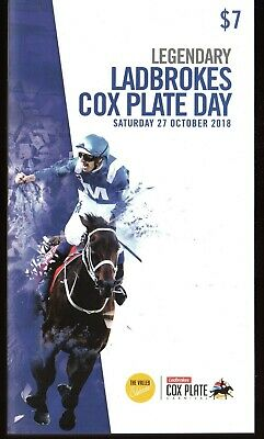 Winx 2018 Cox Plate Race Book Racebook Moonee Valley - 4Th Cox Plate In A Row
