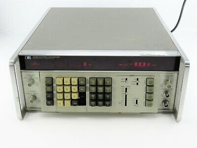 Agilent HP Keysight 3330B Digital Automatic Synthesizer AS IS -Missing 2 Buttons