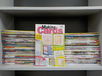 Card Making Magazines - 120 Mags Collection! (ID:4329)