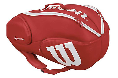 Red//White Wilson Pro Staff 9-Pack Free Shipping! Brand New