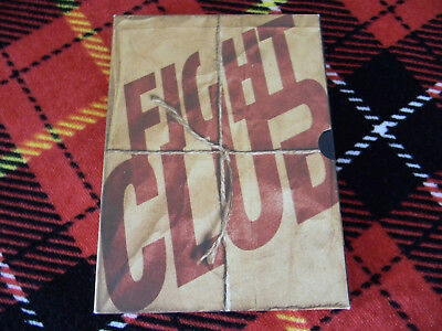 Fight Club (DVD, 2000, 2-Disc Set, Special Edition Double Digipack) VG