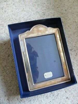 Small 1997 hallmarked silver photo frame ##ALFSS62BS