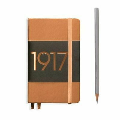 NEW Leuchtturm1917 Special Edition Metallic Notebook Pocket Hardcover A6 Dotted