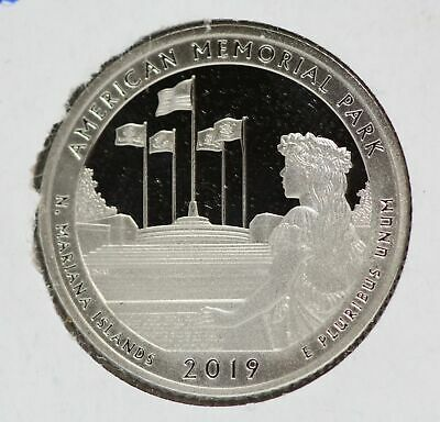 2019-S American Memorial Park Clad Proof 2019 ATB National Park Quarter - LE479