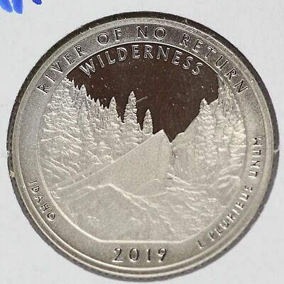 2019 River of No Return Idaho Clad Proof Quarter ATB National Park America LE483