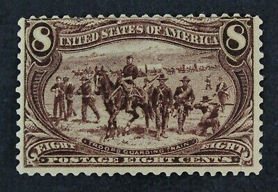 CKStamps: US Stamps Collection Scott#289 8c Mint H OG Tiny Thin Tear CV$150