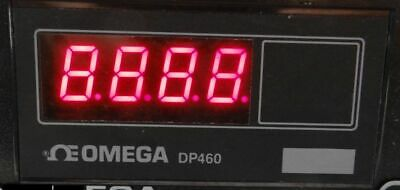 Omega Engineering Thermocouple Thermometer Model DP460