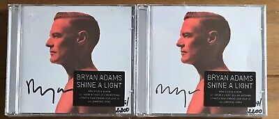 Bryan Adams - Shine A Light Signed CD Autographed Sealed