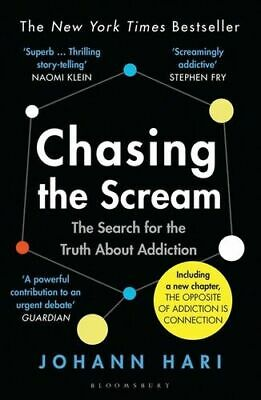 NEW Chasing the Scream By Johann Hari Paperback Free Shipping