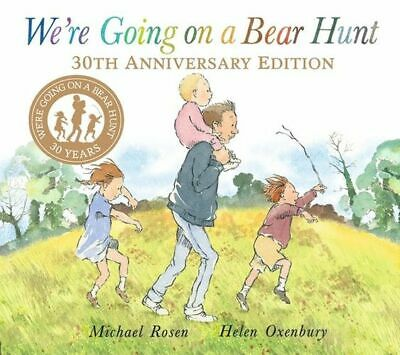NEW We're Going on a Bear Hunt By Michael Rosen Board Book Free Shipping