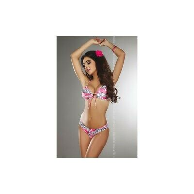 SEXY BIKINI PUSH-UP MAILLOT DE BAIN MER FEMME multicolore SLIPS TRIANGLE 1851be89f59