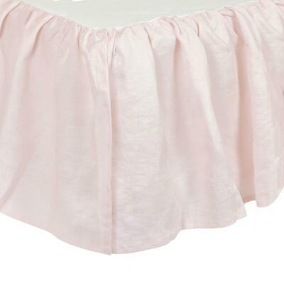 Just Born Keepsake Classic Vintage Crib Skirt
