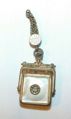 RARE old Victorian Pocket Watch Fob Charm