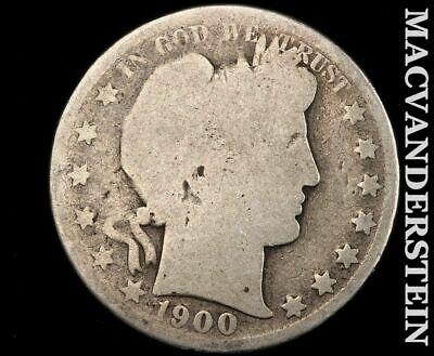 1900 Barber Half Dollar-Scarce Better Date!!  #d8974