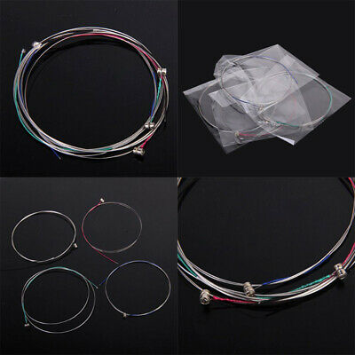AU1 Set of Violin Steel Strings E A D G Replacement For 3/4 - 4/4 Common Size
