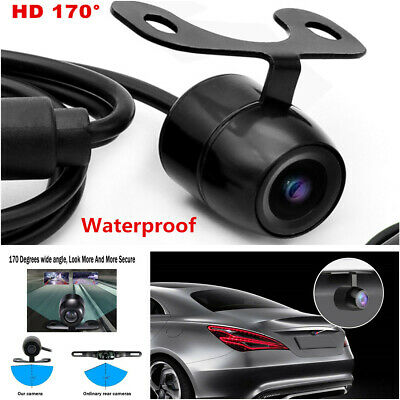 Waterproof 170° Car Rear Front Side View Camera Backup Reverse Cam Mirror Image Mouldings & Trim