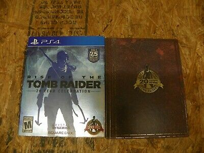 Rise of the Tomb Raider: 20 Year Celebration PS4 - Playstation 4
