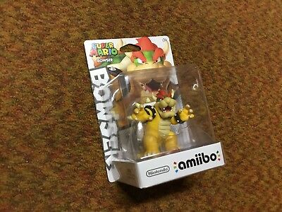 Bowser Amiibo Brand New Sealed From Mario Party 10 24 97