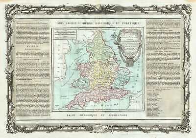 1786 Desnos and de la Tour Map of England and Wales