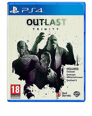 Outlast Trinity PS4 - GAME for Sony PlayStation 4 BRAND NEW IN STOCK