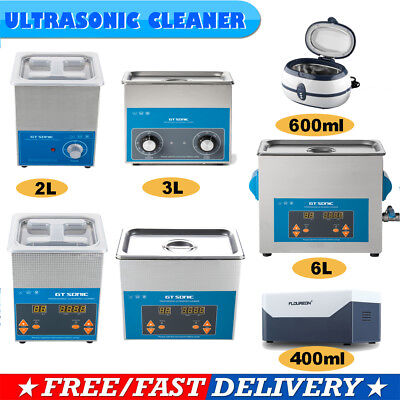 2/3/6L Digital Ultrasonic Cleaner Sonic Wave Industrial Jewellery Watch Cleaning