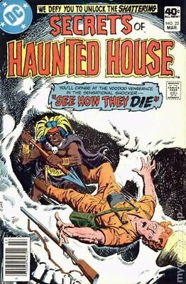 Secrets of Haunted House #22 1980 VG Stock Image Low Grade