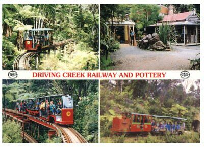 (974) Postcard - New Zealand - Driving Creek Railway and Pottery