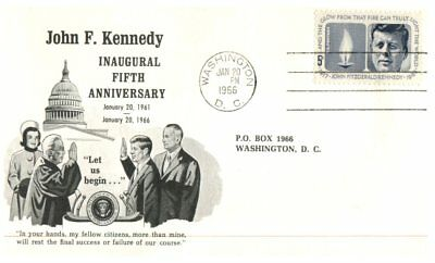 (C 506) USA - FDC cover - 1964 - 1966 - John F. Kennedy
