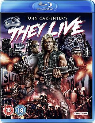 They Live-(Blu-Ray)-New&sealed-Roddy Piper, Keith David & Meg Foster