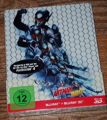 Ant-Man and the Wasp (2018) Steelbook Blu-ray Neuwertig