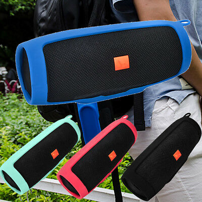 For JBL Charge3 Bluetooth Speaker Portable Mountaineering Silicone Case Cover UK