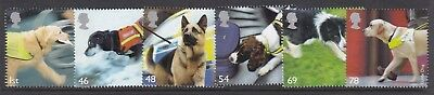 Gb Great Britain 2008 Working Dogs Set Never Hinged Mint