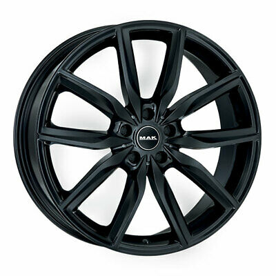 Llantas Mak Allianz 9X20 5X120 Et44 Bmw X5 Gloss Black E3C