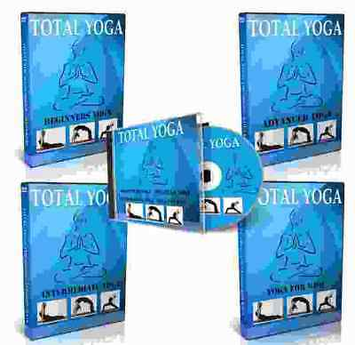 Complete YOGA DVD Video & CD Training Course Home Study For Self Improvement