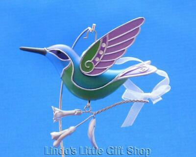 2018 Hallmark Ornament The Beauty Of Birds Hummingbird Surprise