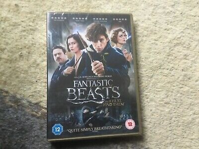 Fantastic Beasts and Where To Find Them [DVD + Digital Download] [2016] DVD, New