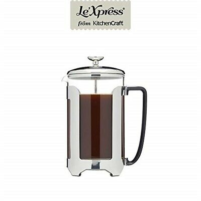 Kc Lx Cafetiere 12 Cup Stainless Steel