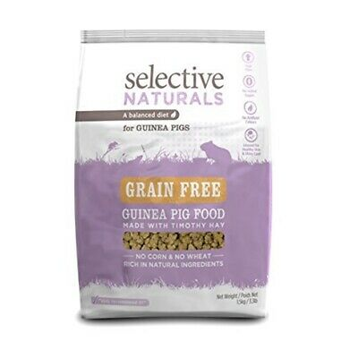 Supreme Science Selective Naturals Grain Free Food For Guinea Pigs 1.5kg