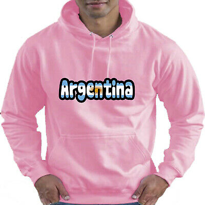 Argentina Flag Love Childrens Childs Kids Boys Girls Hoodie Hooded Top