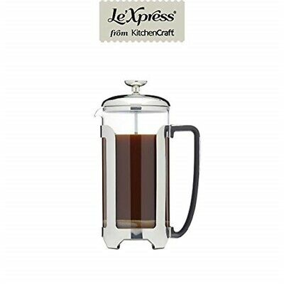 Kc Lx Cafetiere 8 Cup Stainless Steel
