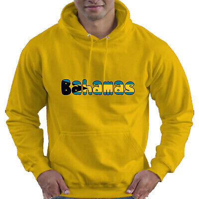 Bahamas Flag Love Childrens Childs Kids Boys Girls Hoodie Hooded Top
