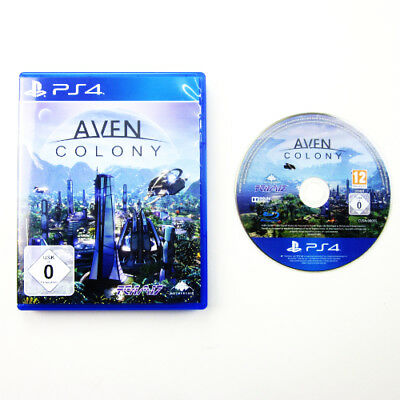 Ps4 Playstation 4 Game Aven Colony Boxed