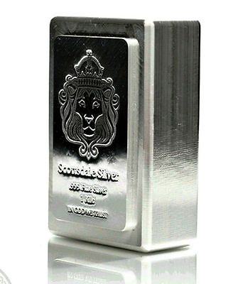 GREAT GIFT or INVESTMENT! 1-Kilo (32.15 Troy ozs) 999 FN SILVER SDMT Stacker Bar