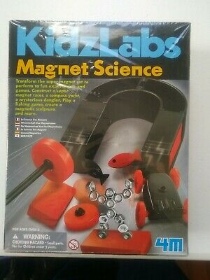 Childcraft Advanced Magnet Science Kit for Kids Ages 6 to 9