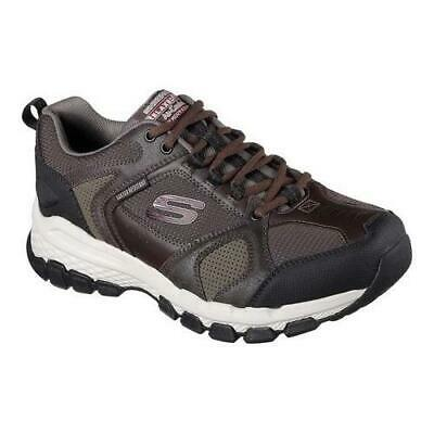 f0ea9b405649 New Mens Skechers Extra Wide Cooled Memory Foam Outland 2.0 Brown Black 11.5