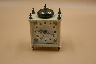 Vintage MARKSMAN Alarm Clock - West Germany - Working