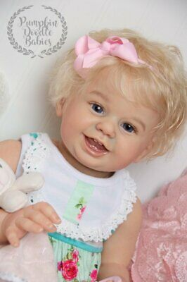 CUSTOM ORDER Reborn Doll Baby Girl or Boy Luv Buggie by Laura Tuzio Ross