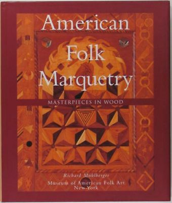 American Antique Marquetry Inlaid Wood Furniture Clocks & Boxes & Their Makers