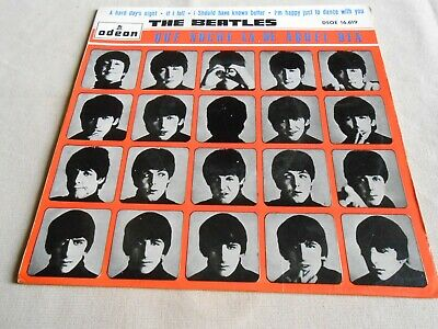 The Beatles, Ep, A Hard Day´s Night + 3, Spanish Edit.1964