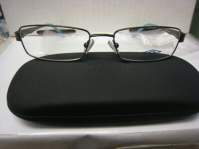 27bd213bfe6 UMBRO EYEGLASSES FRAME U805 in BROWN 56 -17-140 DEMO WITH CASE AUTHENTIC